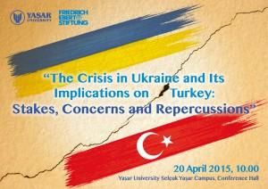 Yasar University Friedrich Ebert Stiftung Conference on Ukraine Poster 20 04 2015